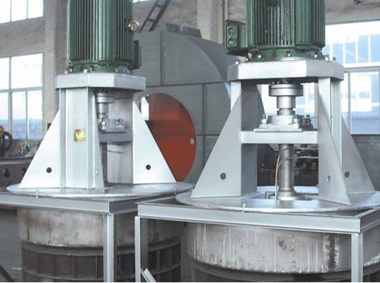 洛陽希格鋁廠退火爐高溫循環風機